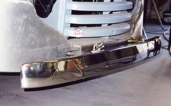 Custom Bumper Fabrication   Jeff Lilly Restorations